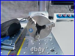 50W MAX Fiber Laser Marking Machine Metal gold silver Engraving CNC Steel DIY