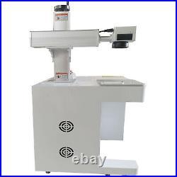50W USB Fiber Laser Marking Machine Metal Engraving Crafts Engraver With CE FDA