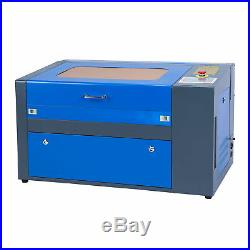 50w Laser Engraving Cutting Machine CO2 Engraver Cutter 500mm x 300mm W. Rotary