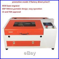 50w laser engraver cutter 4030 wood acyrlic rubber engraving cutting machine