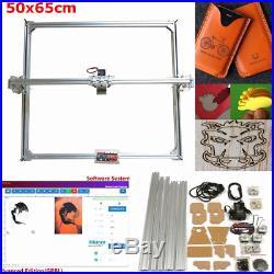 50x65cm Area Mini Laser Engraving Cutting Engraver Machine Printer Kit Desktop