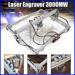 50x65cm Area Mini Laser Engraving Cutting Machine Printer Kit Desktop 3000MW