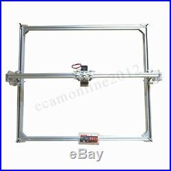 50x65cm CNC Laser Engraving Machine 2Axis DC 12V DIY Engraver Desktop