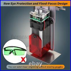 550 mW CNC Area Laser Engraving Machine Printer Kit Desktop Gift DIY Cutter