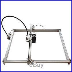 5500MW Mini Desktop Laser Engraving Machine 50X65CM DIY Carve Logo Printer 5.5W