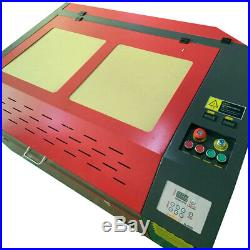 6090 100W Laser Cutter Engraving Machine & CW-3000 Water Chiller Rotary Axis DIY