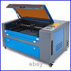 60W 16 × 24/400 × 600mm CO2 Laser Engraver Egravering Cutter Machine Preenex