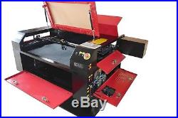60W CO2 HQ7050 Laser Engraving Cutting Machine/Engraver cutter 700500mm/Acrylic