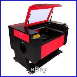 60W CO2 Laser Engraver Engraving Machine Artwork Cutter Cutting 700x500mm