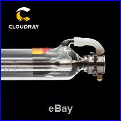60W CO2 Laser Tube Metal Head Glass Pipe for CO2 Laser Engraver Cutter Machine