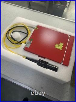 60W MOPA JPT M7 Fiber Laser Marking Machine Laser Engraver with 80mm Rotary Axis