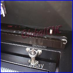 60W USB CO2 Laser Engraving Machine Engraver Cutter with Water Pump Air Pump