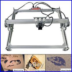 65x50CM 500mw DIY Laser Engraving Machine Logo Marking Printer Engraver Printer