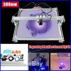 65x50cm Mini Laser Engraving Marking Machine Printer Logo Desktop Kit 500mw