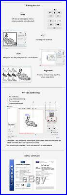 7000mW Desktop Laser Engraving Machine Logo Marking Engraver Printer Cutter DIY