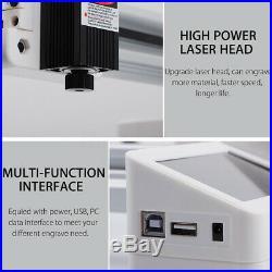 7000mW Offline USB Laser Engraver Engraving Machine Cutter DIY Logo Mark Printer
