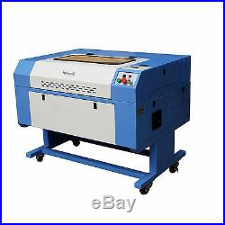 700x500mm 50W Co2 Laser Engraving Cutting Machine Engraver Cutter Chiller Stand