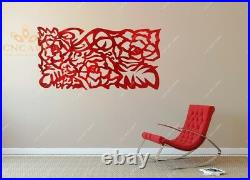 +75 Wall decorations DXF CDR and EPS Files For CNC Plasma, Router, LASER