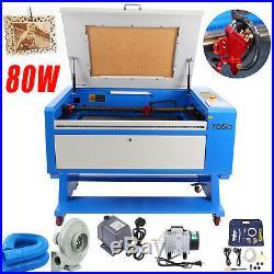 80 Watt CO2 Laser Cutter Engraver Engraving Machine 700500mm USB Interface