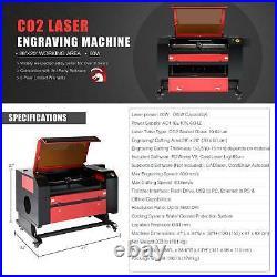 80W 28x20 Inch CO2 Laser Engraver Engraving Machine with Lightburn License Key