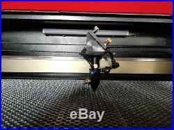 80W CO2 HQ7050 Acrylic Laser Engraving Cutting Machine Engraver Cutter/700500mm