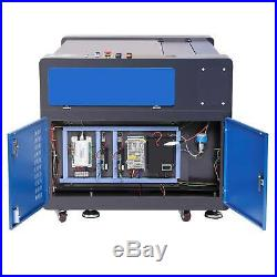 80W CO2 Laser Engraver Engraving 35 x 24 Cutting machine Electric Lifting
