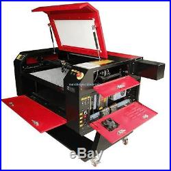80W CO2 Laser Engraving Cutter Machine Engraver Water Cooling 700X500MM USB PORT