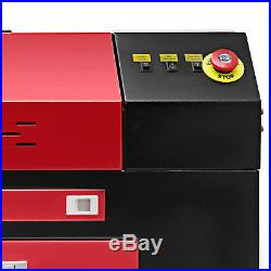 80W Co2 Laser Engraver Cutter Machine Cutting Woodworking Air Assist DSP Control