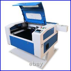 80W Co2 Laser Engraving & Cutting Machine Laser Engraver 700x500mm Electric Z