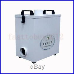 80W Pure Air Fume Extractor Smoke Purifier For 3020 6040 Laser Engraving Machine