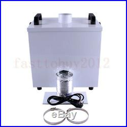 80W The Pure Air Fume Extractor Smoke Purifier For CNC Laser Engraving Machine