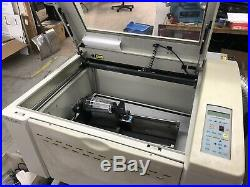 Accuris Laser Engraving Machine 2007 30w 18x24 Cylindrical Rotary Recharged