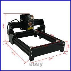 Assembled 15W diy laser engraving machine 2014cm metal engraver marking machine
