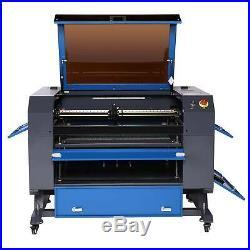 C02 Laser Engraver Cutter 60W 28x20 Cutting Engraving Marking Machine updated