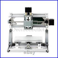 CNC 1610 Mini Mill Engraving Machine Router Kit USB+500mw Laser Engraver