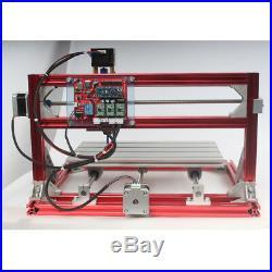 CNC 3018 Engraving Router & 15W Laser Module Carving Milling DIY Laser Machine