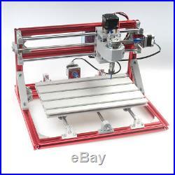 CNC 3018 Engraving Router & 7W Laser Module Carving Milling DIY Laser Machine