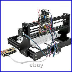 CNC 3018 PRO Machine Router 3 Axis Engraving + Offline Control+5500mw Laser Head