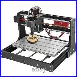 CNC 3018 PRO Machine Router 3 Axis Engraving PCB Wood DIY Mill+5500mw Laser Head