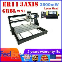 CNC 3018PRO DIY Laser Engraver PCB Wood Milling Machine Router With GRBL Control