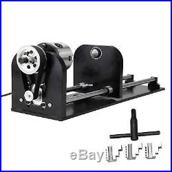 CNC Chuck Rotary Axis For 60W-100W CO2 Laser Engraving Cutting Machine Engraver