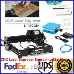 CNC Laser Engraver Engraving Machine Desktop Metal Stone Printer Cutter USB SALE
