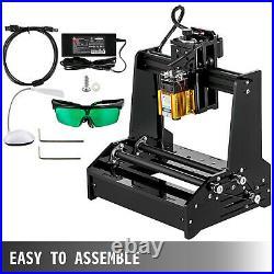 CNC Machine Mini Laser Engraver 15W Laser Engraving Machine Cylindrical Engraver