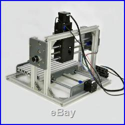 CNC Router 2417 Mini PCB Metal Wood Engraving Milling Machine Engraver Desktop