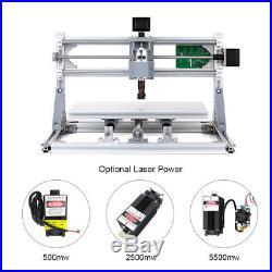 CNC3018 DIY 2-in-1 Mini Laser Engraving Machine GRBL Control 3 Axis 2500mW