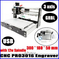 CNC3018 Pro 2in1 Laser Engraving Machine DIY Router GRBL Control Milling Machine