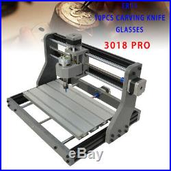 CNC3018PRO DIY Router Laser Engraving 2in1 Machine Kit USB Carving Milling GRBL
