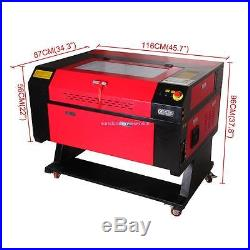CO2 Laser Engraver 60W Top Line Laser Engraving Machine comes with USB Interface