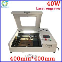 CO2 Laser Engraving Cutting Machine 4040 40W 400400mm for wood leather acrylic