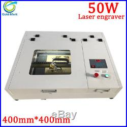 CO2 Laser Engraving Cutting Machine 4040 50W 400400mm for wood leather acrylic